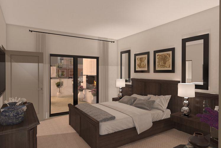 Chelsea Westside Master Bedroom